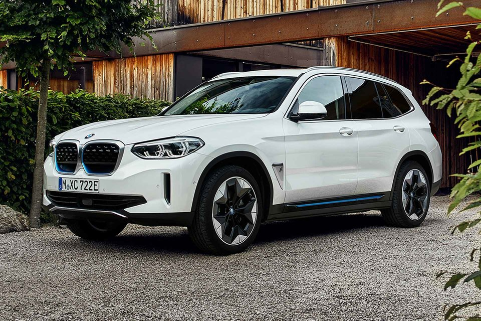 BMW's first all-electric SUV iX3