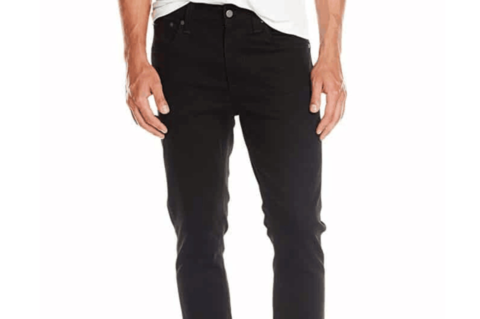 Nudie Jeans Men's Lean Dean Dry Cold Black