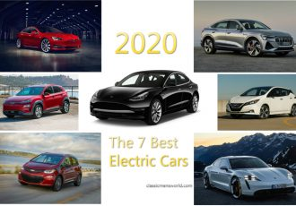The 7 best electric cars for 2020